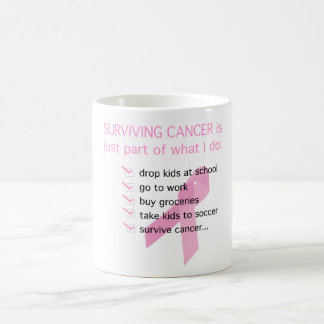 SURVIVING CANCER is just part of what I do Coffee Mug