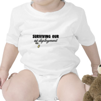 Surviving Our 1st Deployment Baby Bodysuits