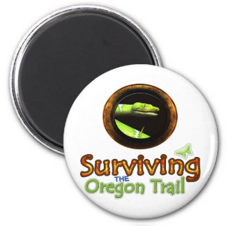 Surviving the Oregon Trail 2 Inch Round Magnet