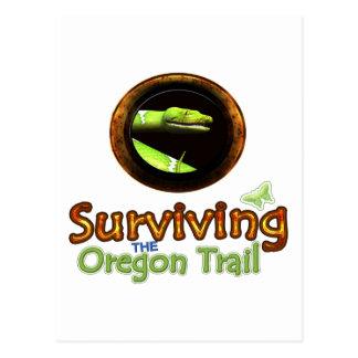 Surviving the Oregon Trail Postcard