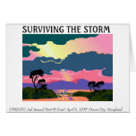Surviving The Storm Greeting Cards