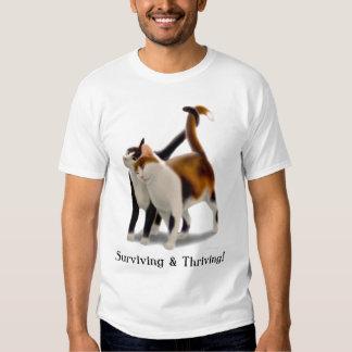 Surviving & Thriving Cats Shirt