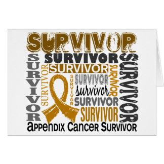 Survivor 10 Appendix Cancer Card