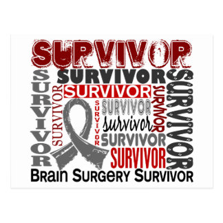 Survivor 10 Brain Surgery Post Card