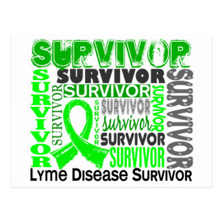 Survivor 10 Lyme Disease Postcard