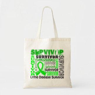 Survivor 10 Lyme Disease Tote Bag