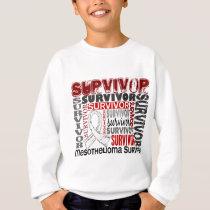 Survivor 10 Mesothelioma Sweatshirt