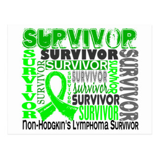 Survivor 10 Non-Hodgkins Lymphoma Postcard