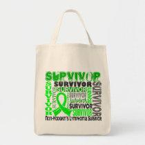 Survivor 10 Non-Hodgkins Lymphoma Tote Bag