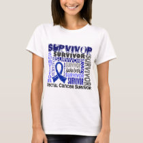 Survivor 10 Rectal Cancer T-Shirt