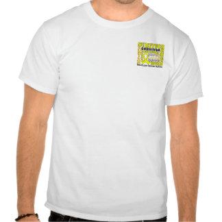 Survivor 10 Testicular Cancer Tee Shirt