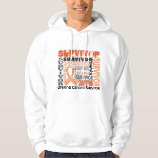 Survivor 10 Uterine Cancer Hoodie