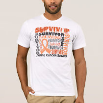 Survivor 10 Uterine Cancer T-Shirt