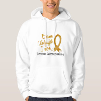 Survivor 11 Appendix Cancer Hooded Pullovers