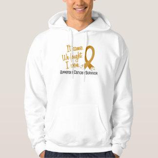 Survivor 11 Appendix Cancer Hoodies