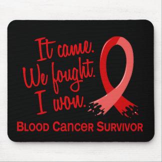 Survivor 11 Blood Cancer Mouse Pad