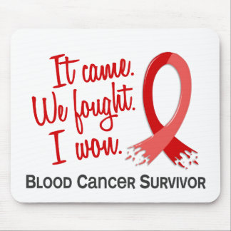 Survivor 11 Blood Cancer Mousepad