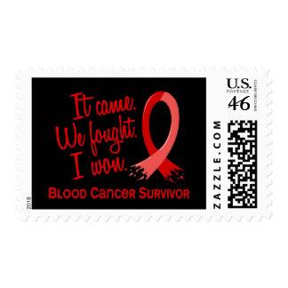 Survivor 11 Blood Cancer Stamp