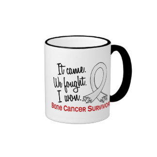 Survivor 11 Bone Cancer Ringer Coffee Mug