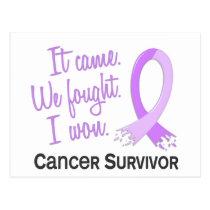 Survivor 11 General Cancer Postcard