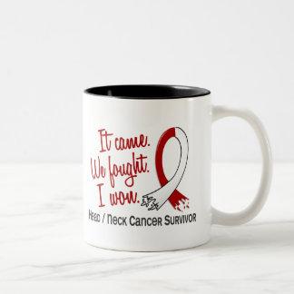 Survivor 11 Head And Neck Cancer Mug