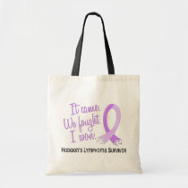 Survivor 11 Hodgkin's Lymphoma Tote Bag