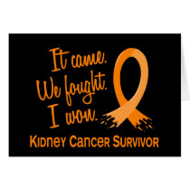 Survivor 11 Kidney Cancer Card