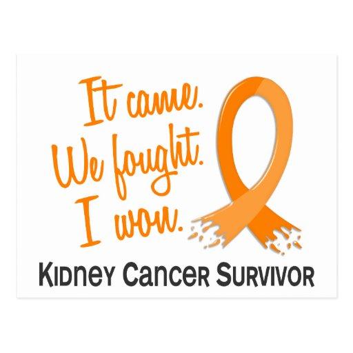 Survivor 11 Kidney Cancer Post Cards
