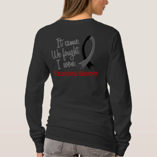 Survivor 11 Melanoma T-Shirt