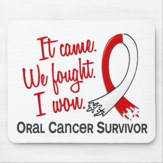 Survivor 11 Oral Cancer Mousepad