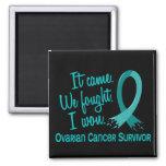 Survivor 11 Ovarian Cancer Fridge Magnet