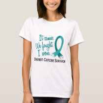 Survivor 11 Ovarian Cancer T-Shirt