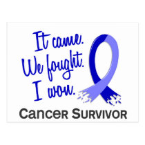Survivor 11 Rectal Cancer Postcard