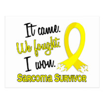 Survivor 11 Sarcoma Postcard