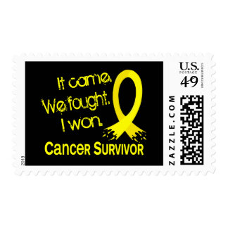 Survivor 11 Testicular Cancer Stamps