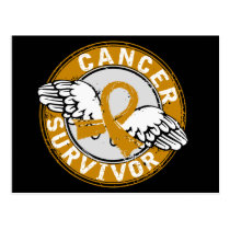 Survivor 14 Appendix Cancer Postcard