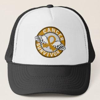 Survivor 14 Appendix Cancer Trucker Hat