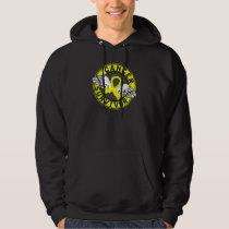 Survivor 14 Bladder Cancer Hoodie