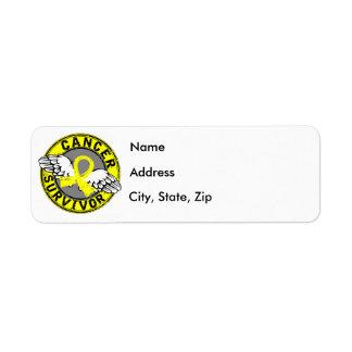 Survivor 14 Bladder Cancer Label