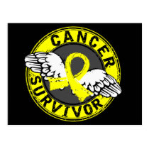 Survivor 14 Bladder Cancer Postcard