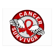 Survivor 14 Blood Cancer Postcard