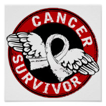 Survivor 14 Bone Cancer Poster