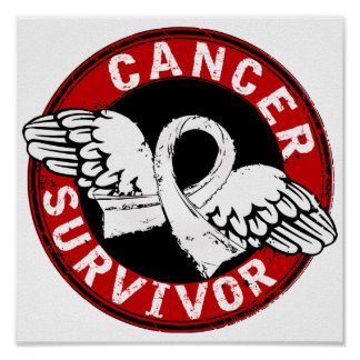 Survivor 14 Bone Cancer Poster