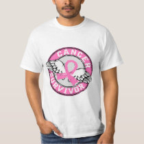 Survivor 14 Breast Cancer T-Shirt