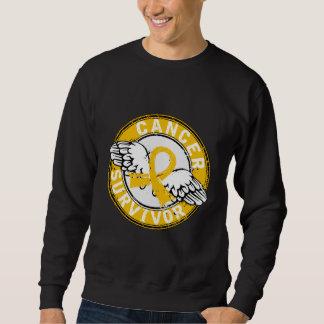 Survivor 14 Childhood Cancer Sweatshirt