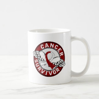 Survivor 14 Head and Neck Cancer Coffee Mugs