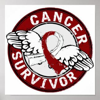 Survivor 14 Head and Neck Cancer Print
