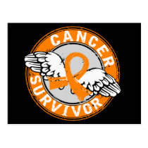Survivor 14 Kidney Cancer Postcard