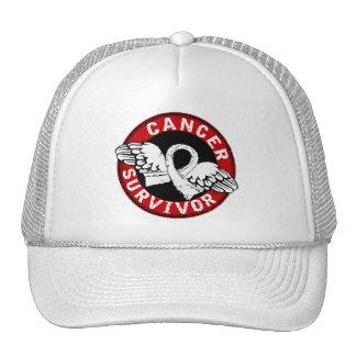 Survivor 14 Lung Cancer Trucker Hat