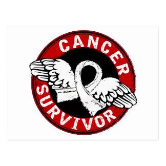Survivor 14 Lung Cancer Postcard